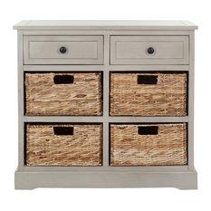 Safavieh Sophia Storage Cabinet, Vintage Grey