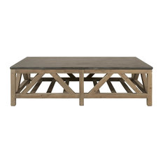 Orient Express Furniture   Blue Stone Coffee Table   Coffee Tables