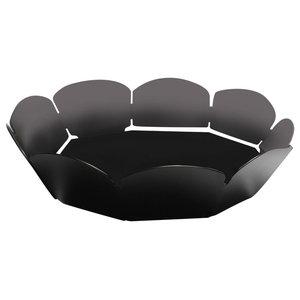 Nonagon Fruit Bowl, Black, Large