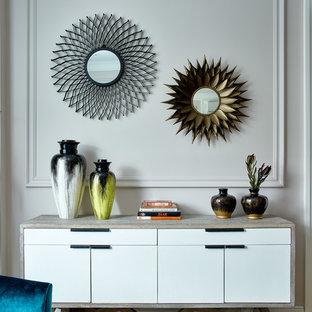 Создайте стильный интерьер: идея дизайна среднего размера в стиле современная классика - последний тренд