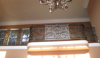 Wrought Iron Balcony Handrail