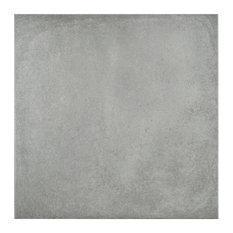 "SomerTile 14.13""x14.13"" Simbols Porcelain Floor/Wall Tile, Set of 8, Cel"
