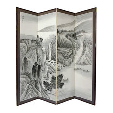 6' Tall Misty Mountain Room Divider