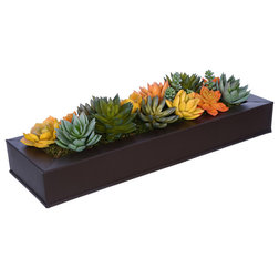 Contemporary Artificial Plants And Trees by House of Silk Flowers, Inc