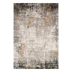 "Loloi Rugs ALC-02 Area Rug, Granite/Gold, 9'9""x13'6"""