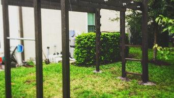 Backyard American Ninja Warrior Course