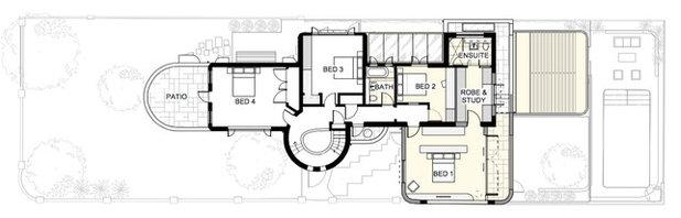 План этажа by Sam Crawford Architects
