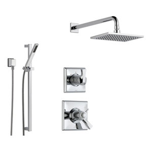 Delta Dryden Collection Chrome Finish Custom Shower System SS17T5184
