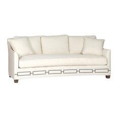 Gabby Baldwin Curved Back Sofa, Cream Zulu Vanilla