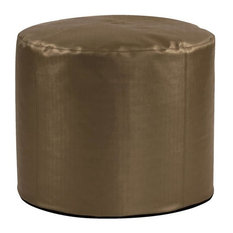 Tall Pouf Luxe Bronze