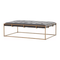 Four Hands Furniture - Irondale Oxford Coffee Table, Small - Coffee Tables
