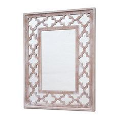 "Burkina Home Decor - Desert Wall Mirror, 25""x35"" - Wall Mirrors"