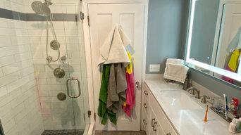 Pogodzinski Transitional Bathroom Remodel