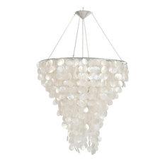 Capiz shell chandeliers houzz worlds away capiz shell chandelier 30 chandeliers aloadofball Images