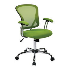 Green Desk Chairs decorative office chairs | houzz