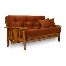 Westfield Wood Futon Frame, Soild Hardwood, Full