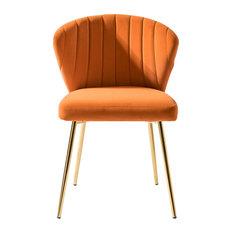 Luna Side Chair, Orange