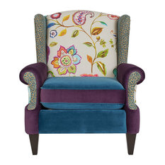 Jennifer Taylor Home - Anya Armchair, Multicolored - Armchairs and Accent Chairs