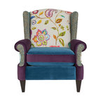 Anya Armchair, Multicolored