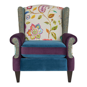 Anya Armchair, Multicolored Floral