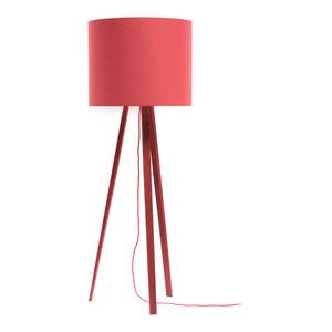 Luca Stand Uni Floor Lamp, Red