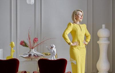 В гостях: Квартира имиджмейкера — с зеркальной кухней и винтажем