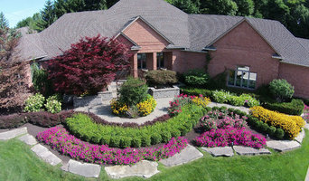 Macomb County, MI Front Yard Residential Landscape
