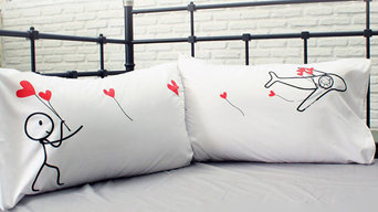 No Matter the Miles Couple Pillowcases
