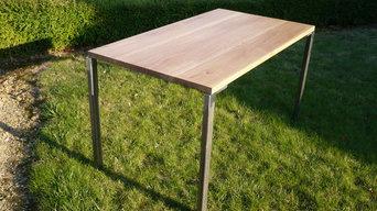 Table de repas en chêne