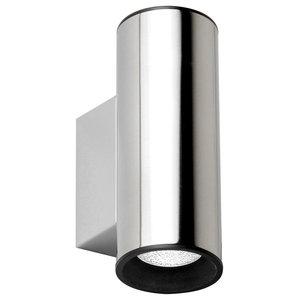 Silver Tub Wall Light