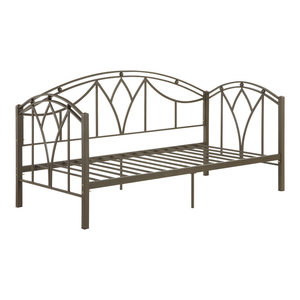Girls Bedroom Metal Twin Daybed With Trundle