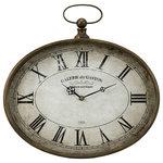 IMAX Worldwide Home - Jefferson Wall Clock - *Please Note*