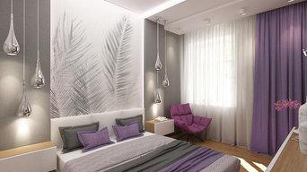 Спальня с перьями