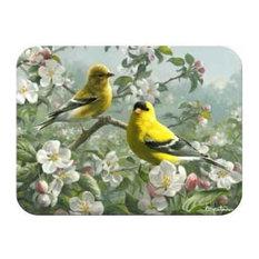 McGowan TufTop Orchard Goldfinch Cutting Board, Medium