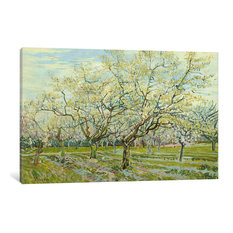 """""""The White Orchard"""" Wrapped Canvas Art Print, 60x40x1.5"""
