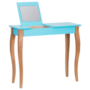 Lilo Medium Scandinavian Dressing Table, Dark Turquoise