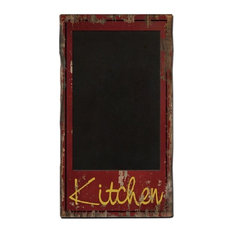 nora lane llc country decor red chalkboard wood sign bulletin boards and chalkboards - Decorative Bulletin Boards