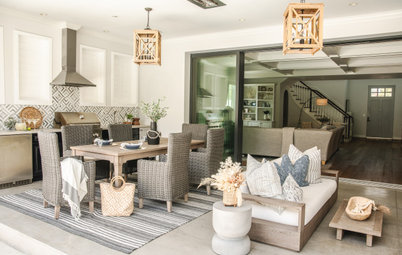 New This Week: 6 Stylish Outdoor Living Rooms