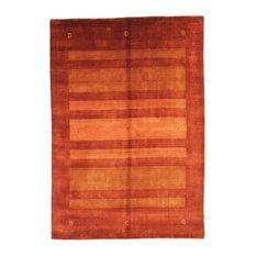 "Loom Gabbeh Lori Rug Oriental Carpet 7'11""x5'6"", India Hand-Knotted Modern"