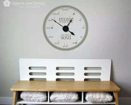 Clocks From Uppercase Living   Wall Decals