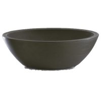 Delano Oval Bowl, Old Bronze