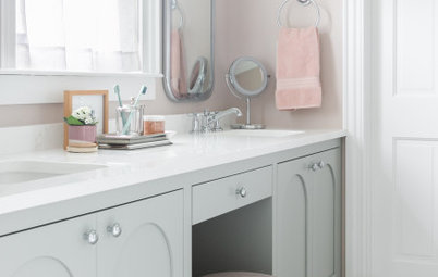 Bathroom of the Week: Teen Girl Gets a Dreamy Design