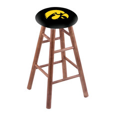 Maple Extra Tall Bar Stool Medium Finish With Iowa Seat 36-inch