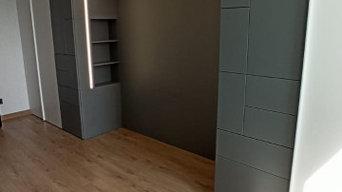 Мебель для гостиной по индивидуальному проекту