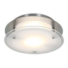 Access Lighting   Vision Round 1 Light Flush Mount   Flush Mount Ceiling  Lighting