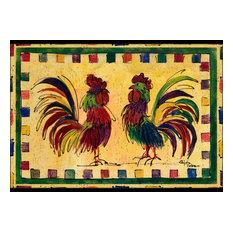 Rooster  Indoor or Outdoor Mat 24x36 8062 Doormat
