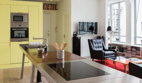 Avant/Après :  Un plateau vide transformé en loft de 90 m²