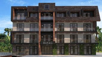 Архитектура отеля