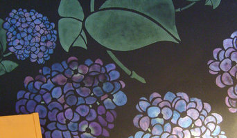 141 hydrangea stencil in custom sizes