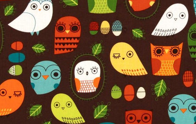 Guest Picks: Make Your Nursery a Hoot With Owl Fabric